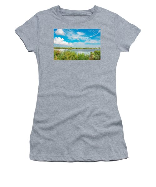 Lauwersmeer National Park. Women's T-Shirt (Athletic Fit)