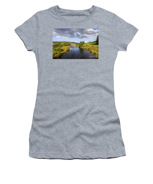 Lazy River Women's T-Shirt (Athletic Fit)