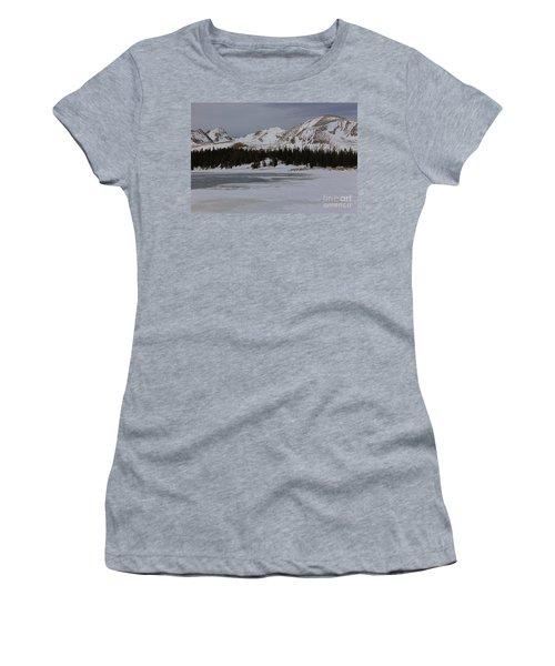 Lefthand Reservoir Winter Women's T-Shirt