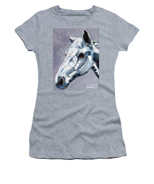 Legend - Sport Horse Women's T-Shirt (Athletic Fit)