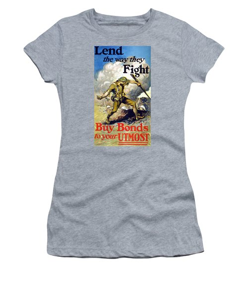 Lend The Way They Fight, 1918 Women's T-Shirt