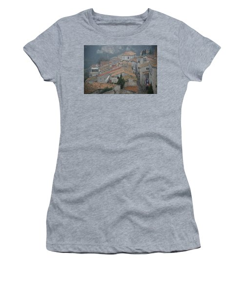 Les Baux Women's T-Shirt (Athletic Fit)