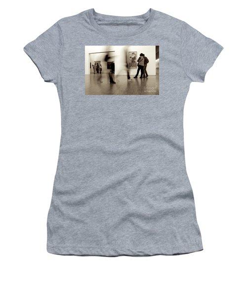 Les Fantasmes De Pompidou Women's T-Shirt (Athletic Fit)