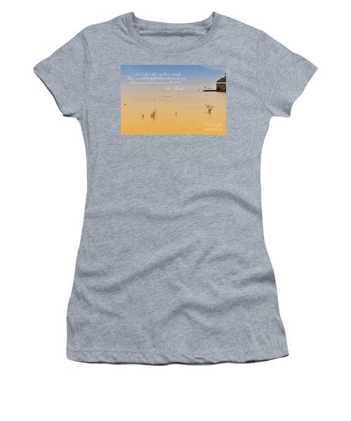 Let It Be Women's T-Shirt (Athletic Fit)