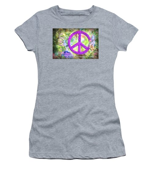 Let There Be Peace On Earth Women's T-Shirt (Athletic Fit)