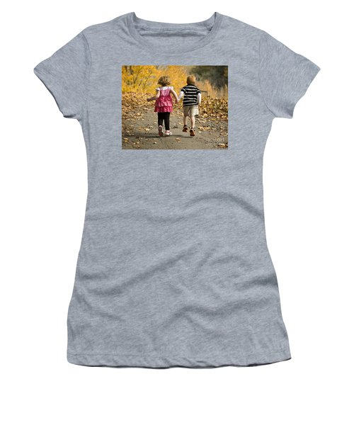 Let's Get Out Of Here Women's T-Shirt (Athletic Fit)
