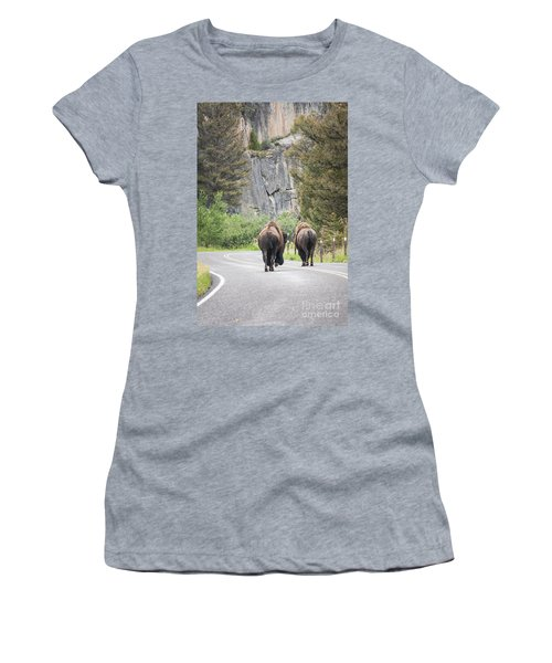 Let's Start This Day... Women's T-Shirt (Athletic Fit)