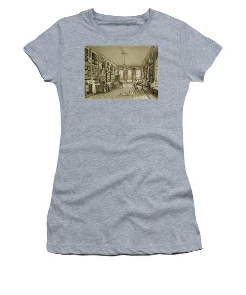 Library As Sitting Room, Cassiobury Women's T-Shirt