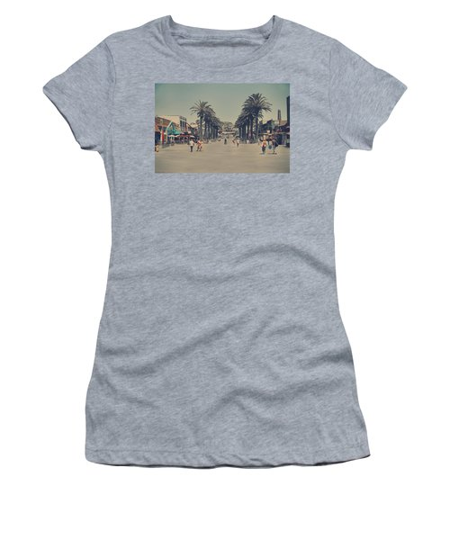 Life In A Beach Town Women's T-Shirt (Athletic Fit)