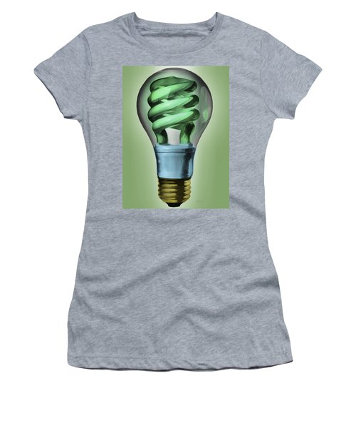 Light Bulb Women's T-Shirt (Athletic Fit)