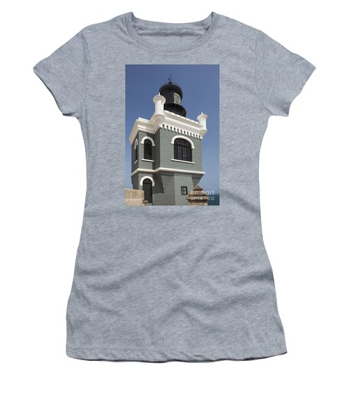 Lighthouse At El Morro Fortress Women's T-Shirt