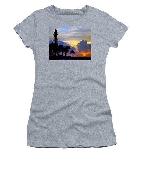Lighthouse Point Sunrise 2 Women's T-Shirt