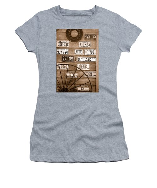Liscensed Shed Wall Women's T-Shirt (Athletic Fit)