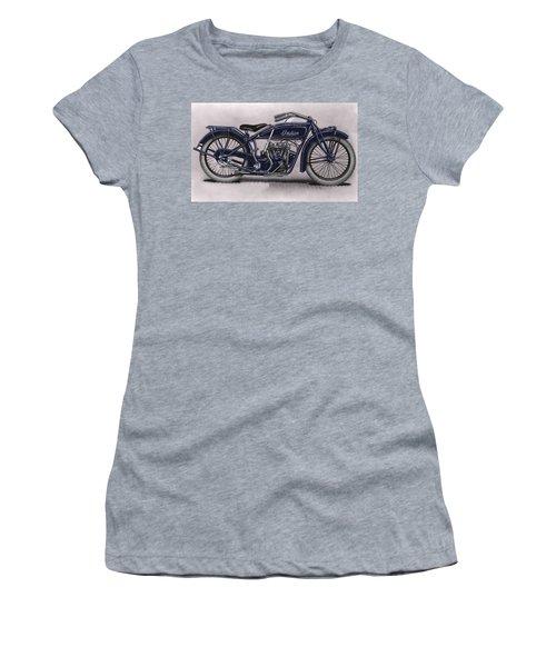 Little Blue Indian 2 Women's T-Shirt (Athletic Fit)