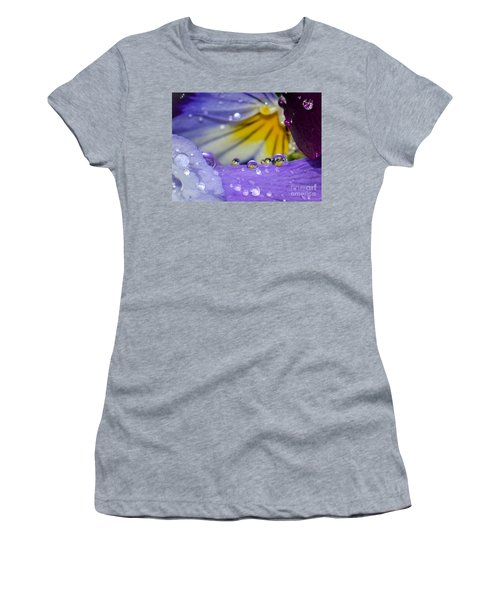 Little Faces Women's T-Shirt (Junior Cut) by Amy Porter