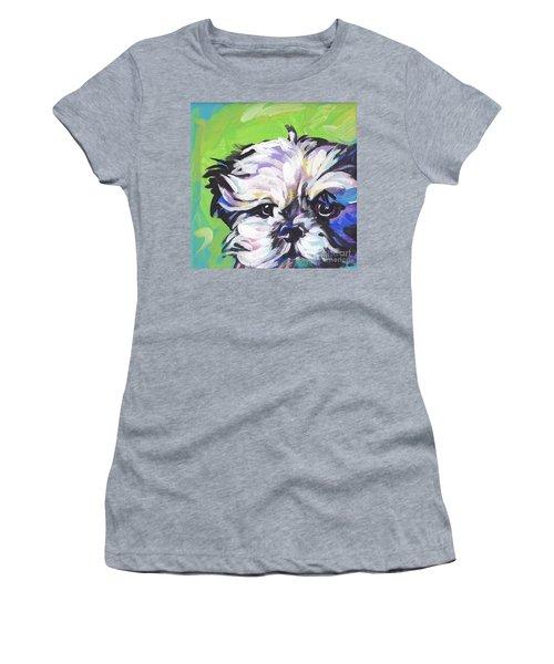Little Shitz Women's T-Shirt (Athletic Fit)