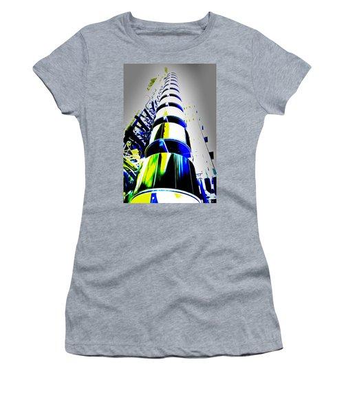 Lloyd's Building London Art Women's T-Shirt (Athletic Fit)
