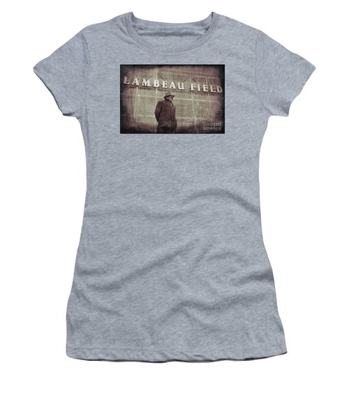 Lombardi At Lambeau Women's T-Shirt (Athletic Fit)