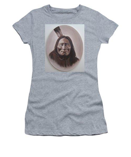 Long Bear Women's T-Shirt (Junior Cut) by Michael  TMAD Finney