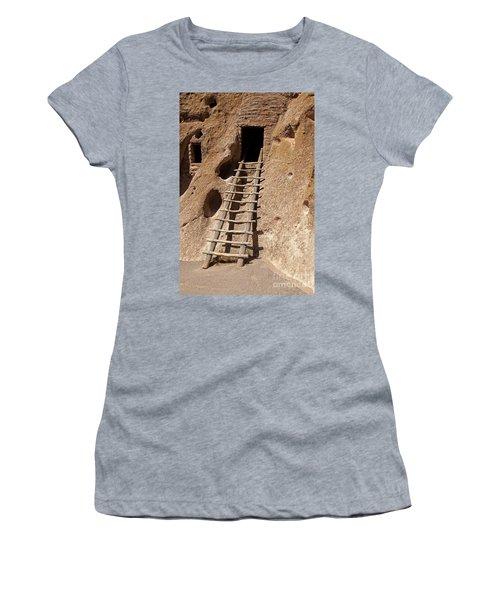 Long House Front Door Bandelier National Monument Women's T-Shirt