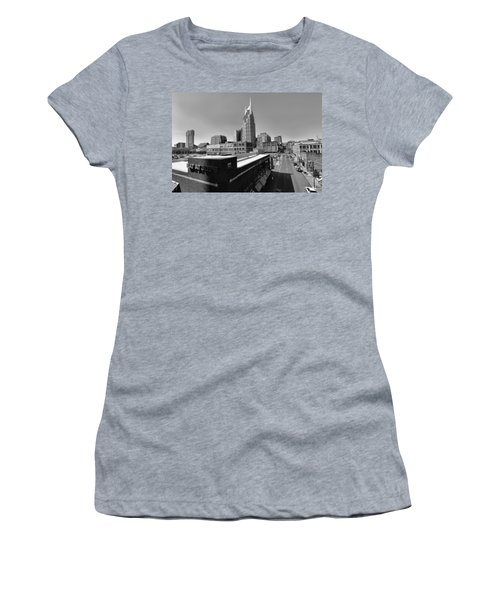 Looking Down On Nashville Women's T-Shirt (Junior Cut) by Dan Sproul