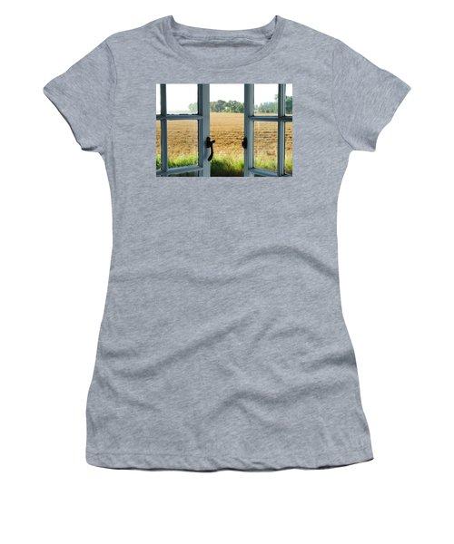 Looking Through A Window Women's T-Shirt (Junior Cut) by Chevy Fleet