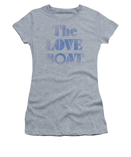 Love Boat - Distressed Women's T-Shirt (Athletic Fit)