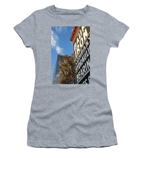 Low Angle View Of The Buildings Women's T-Shirt
