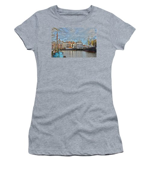 Maassluis Harbour Women's T-Shirt