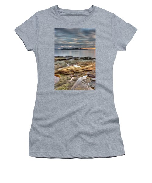Madrona Sunrise Women's T-Shirt (Junior Cut) by Randy Hall