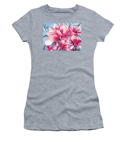Magnolia Medley Women's T-Shirt (Athletic Fit)