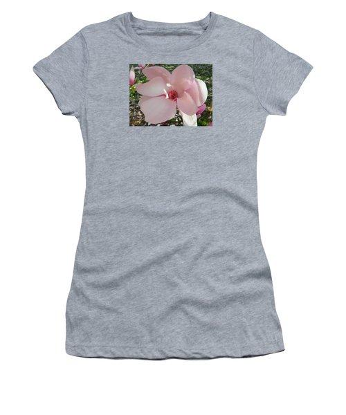 Magnolia Surprise Women's T-Shirt (Junior Cut) by Emmy Marie Vickers