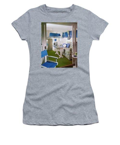 Main Cabin Of A Boat Women's T-Shirt
