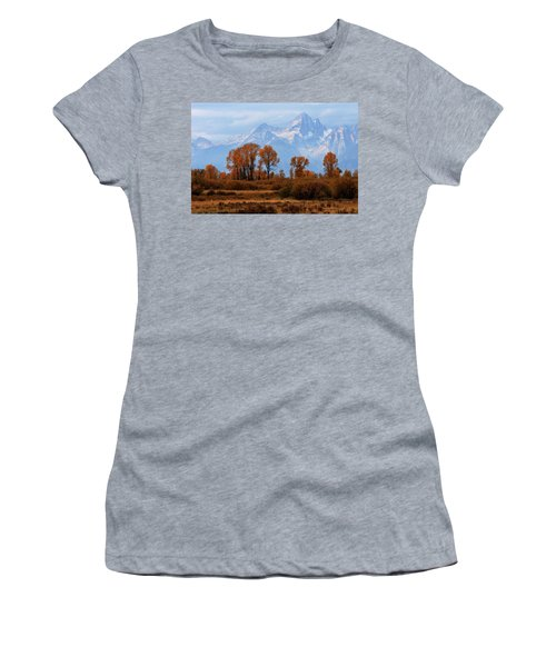 Majestic Backdrop Women's T-Shirt (Athletic Fit)
