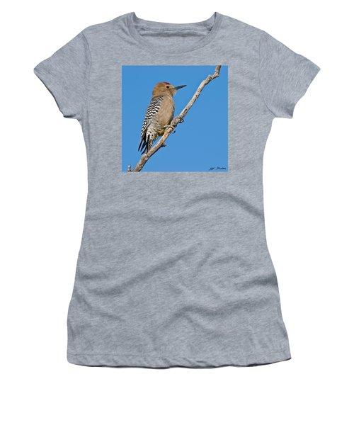 Male Gila Woodpecker Women's T-Shirt (Athletic Fit)