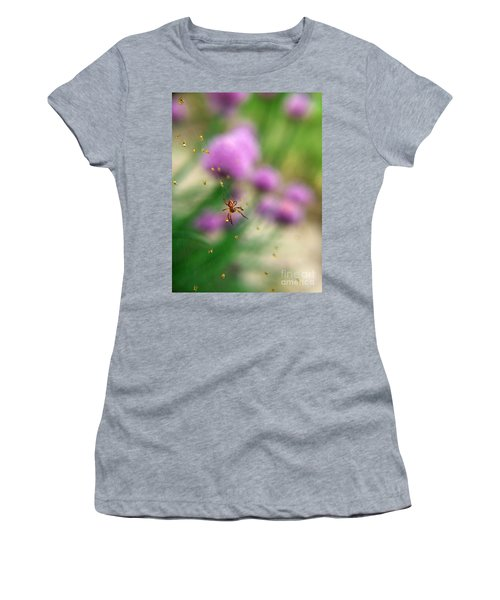 Mama And Her Babies Women's T-Shirt (Athletic Fit)
