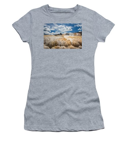 Mammouth Terraces Women's T-Shirt (Athletic Fit)