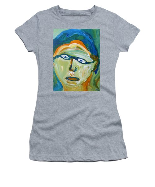 Man With Glasses Women's T-Shirt