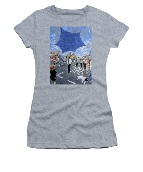 Marching Band, Brecon Jazz Festival, 1994 Oil On Board Women's T-Shirt