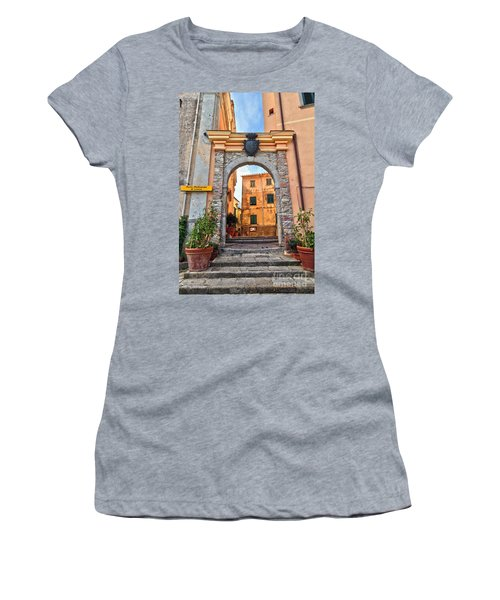 Marciana - Ancient Gate Women's T-Shirt (Athletic Fit)