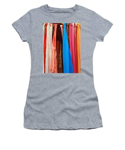 Women's T-Shirt featuring the photograph Market Wares - Granada Spain by Rick Locke