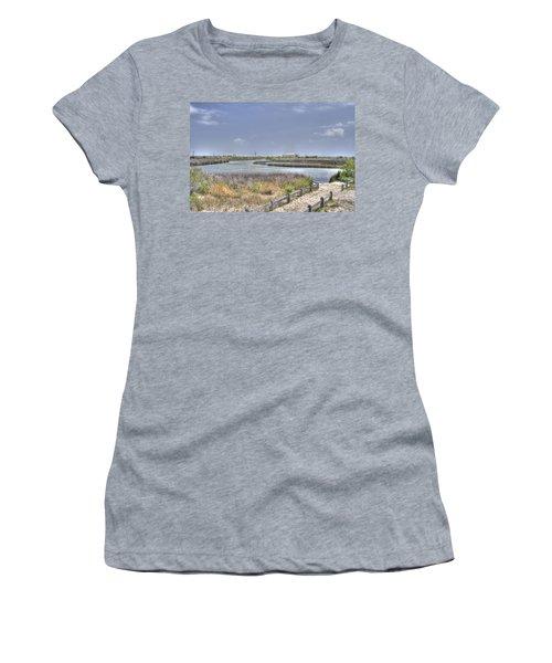 Marsh Women's T-Shirt (Athletic Fit)