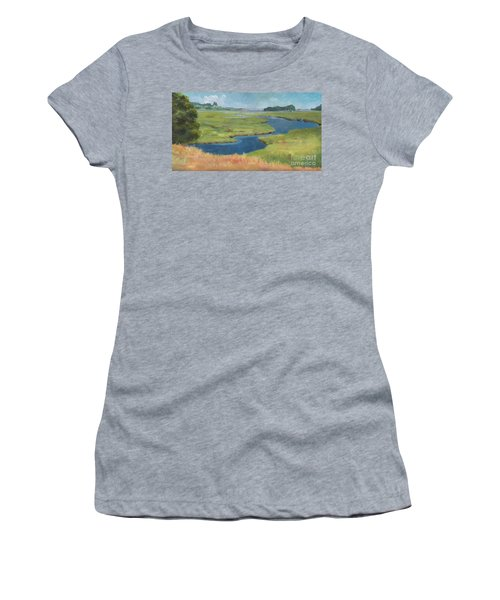 Marshes At High Tide Women's T-Shirt (Athletic Fit)