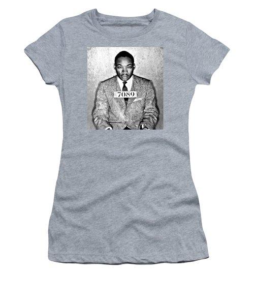 Martin Luther King Mugshot Women's T-Shirt
