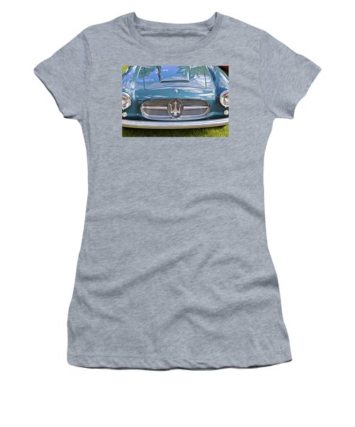 Maserati A6g 54 2000 Zagato Spyder 1955 Women's T-Shirt (Athletic Fit)