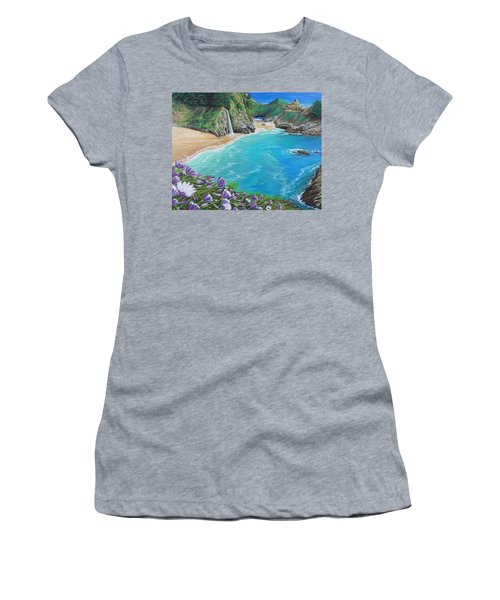 Mcway Falls Women's T-Shirt (Athletic Fit)