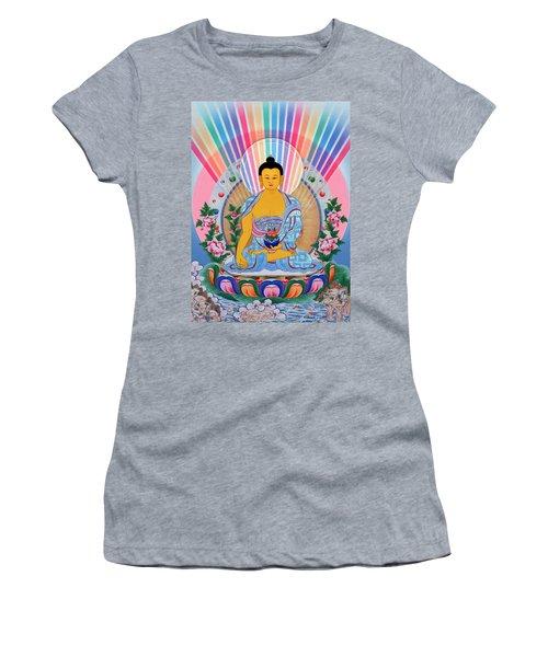 Medicine Buddha 1 Women's T-Shirt (Athletic Fit)