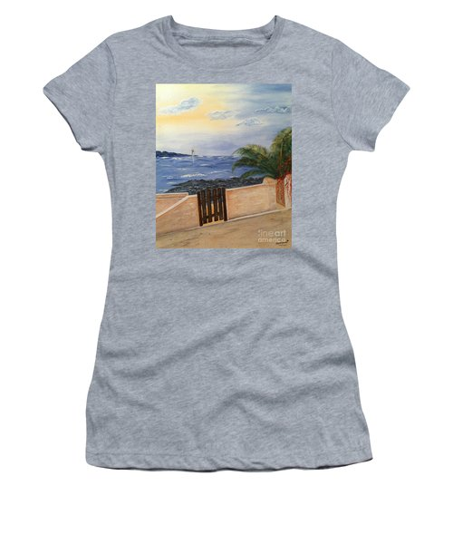 Mediterranean Bbmb0001 Women's T-Shirt (Junior Cut) by Brenda Brown