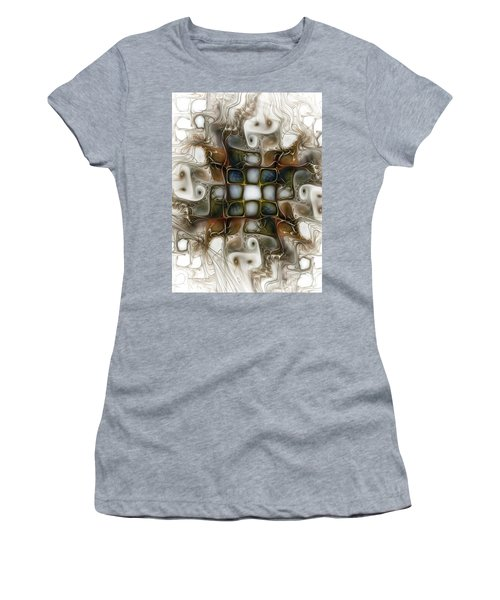 Memory Boxes-fractal Art Women's T-Shirt