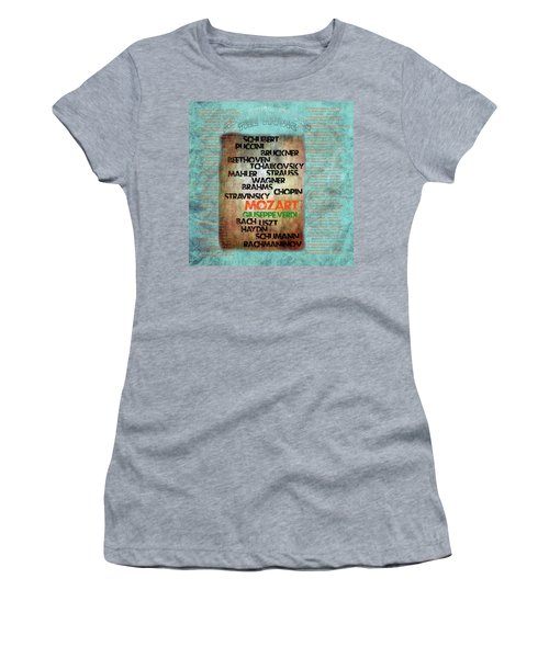Men Who Found The Music Women's T-Shirt